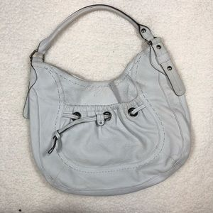 B. Makowsky Off-White Shoulder Bag